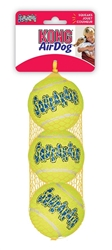 Kong® AirDog® Squeaker Tennis Ball 3 pack Medium