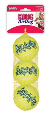 Kong® AirDog® Squeaker Tennis Ball 3 pack Medium