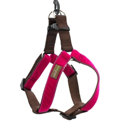 Bettie Velvet Step-In Dog Harness