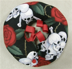Puppy Bumpers - Skulls and Roses