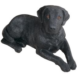 Sandicast Original Size Black Labrador Retriever