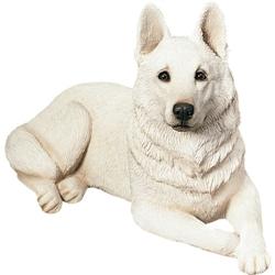 Sandicast Original Size White German Shepherd