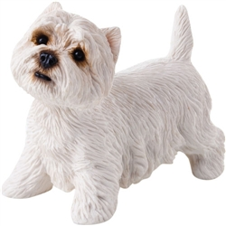 Sandicast Small Size West Highland White Terrier