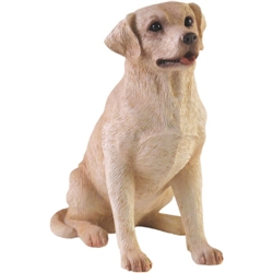 Sandicast Small Size Yellow Labrador Retriever
