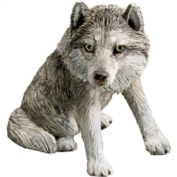 Sandicast Small Size Gray Wolf
