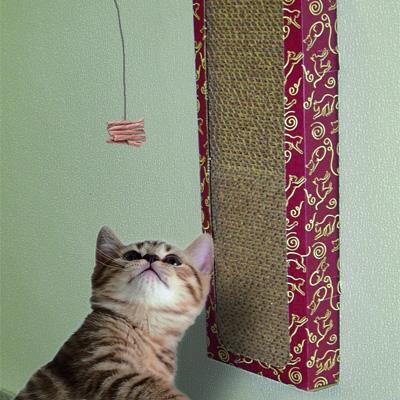 Cat Dancer Wall Scratcher & Play Station
