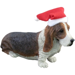 Sandicast Basset Hound Christmas Tree Ornament