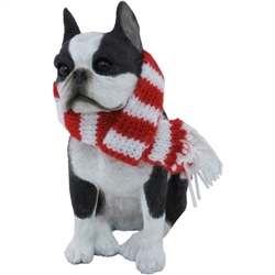 Sandicast Boston Terrier Christmas Tree Ornament