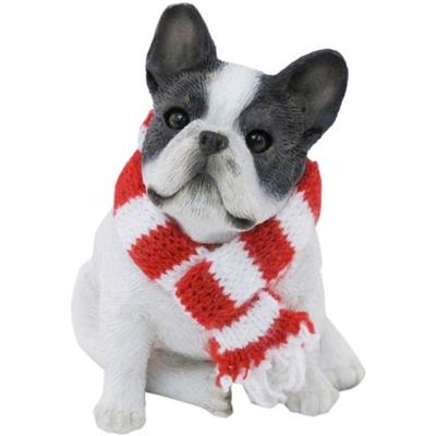 Sandicast Brindle French Bulldog Christmas Tree Ornament