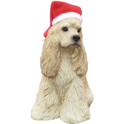 Sandicast Buff Cocker Spaniel Christmas Tree Ornament