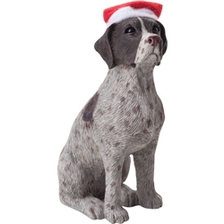 Sandicast German Shorthaired Pointer Christmas Tree Ornament
