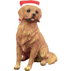 Sandicast Golden Retriever Christmas Tree Ornament