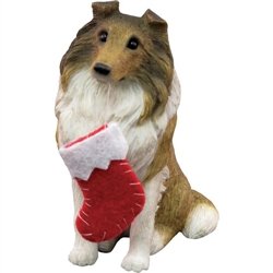 Sandicast Sable Collie Christmas Tree Ornament