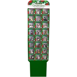 48 pc Prepacked Ornament Display Assortment A