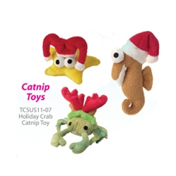 Catnip Sushi Toys - Christmas