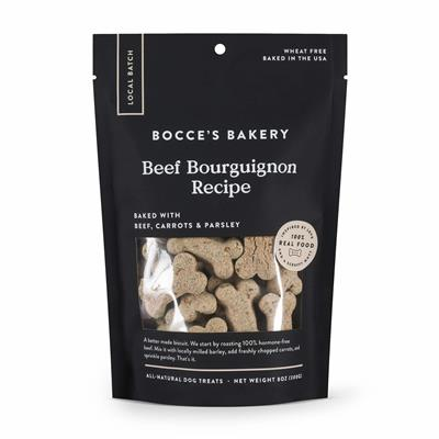 BEEF BOURGUIGNON BISCUITS 8 OZ BAGS