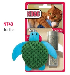 Kong® Refillable Catnip Toy - Turtle