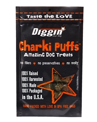Charki Puffs USA Beef Lung and Liver Amazing Treats for Dogs, 6oz