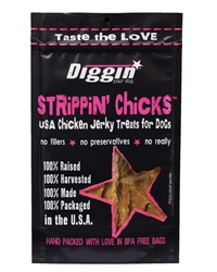 Strippin' Chicks USA Chicken Breast Treats for Dogs, 8oz