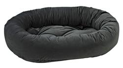 Donut Bed Ash Microvelvet