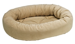 Donut Bed Almond Microvelvet