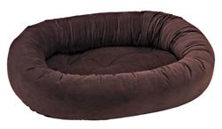 Donut Bed Hickory Microvelvet