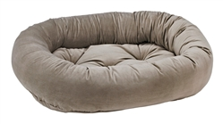 Donut Bed Pebble Microvelvet