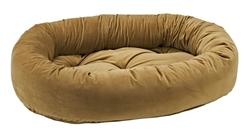 Donut Bed Toffee Microvelvet