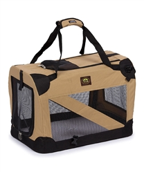 Vista-View Collapsible Trvel Soft Folding Pet Crate