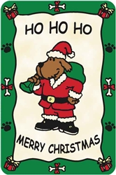 "Ho, Ho, Ho, ""Merry Christmas"" Crunch Card"
