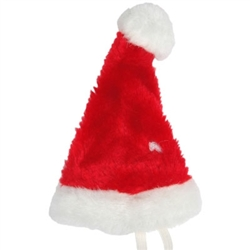 Christmas Santa Hat with Pom Poms