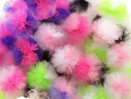 Regular Pom-Puff Collar Bows