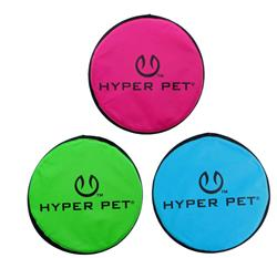 "Hyper Pet™ 9"" Flippy Flopper Assorted Colors 12 pack $61.80 ($5.15 EA) IT FLYS AND FLOATS! OTHER STYLE AVAILABLE INCLUDING DONUT, MONSTER EYE, AND CAMO!"