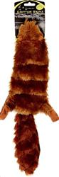 Hyper Pet™ Super Squeaker Critter Skinz RACCOON OR BEAVER NO STUFFING 10/21 SQUEAKERS