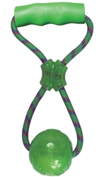 Kong® Squeezz Toy - Ball w/ Handle