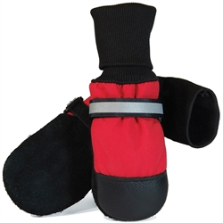 Red Fleece Lined Muttluks (set of 4)