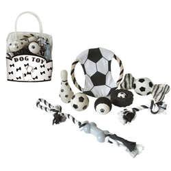 Black & White Dog Pet Gift Set