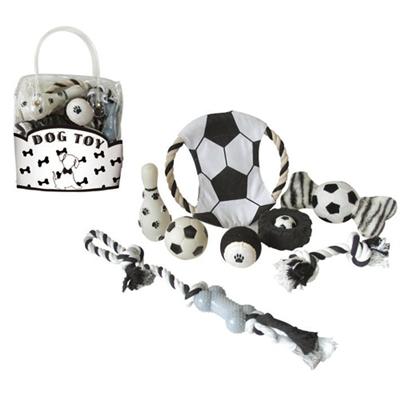 Black & White Dog Pet Gift Set