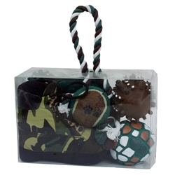 Camouflage Pet Toy Gift Set