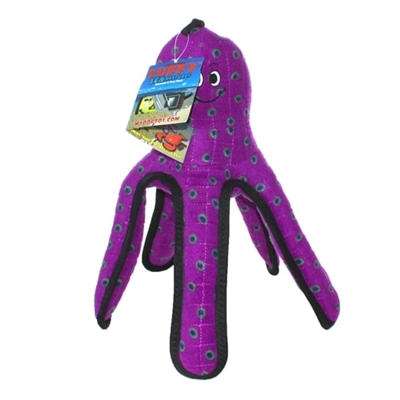 Tuffy® Ocean Creature Series - Purple Pete Octopus