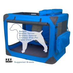 Medium Deluxe Soft Crate, Generation II - Blue Sky
