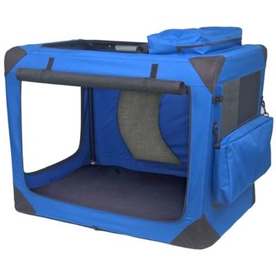 Medium Deluxe Soft Crate, Generation II - Blue Sky