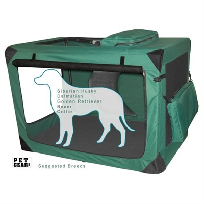 Large Deluxe Soft Crate, Generation II - Moss Green