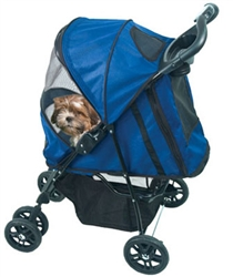 Happy Trails Stroller - Cobalt Blue