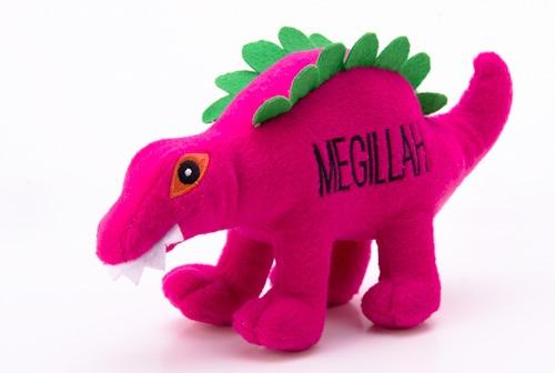 Dog Toy -  Megillah The Dinosaur