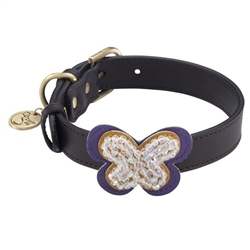 Butterfly Collars & Leashes - Brown