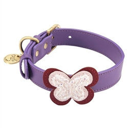 Butterfly Collars & Leashes - Purple