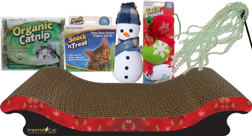 Deluxe Holiday Gift Set for Cats