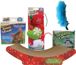 Holiday Kitten Gift Set