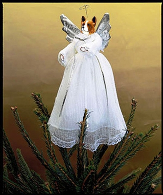 White Treetop Angel